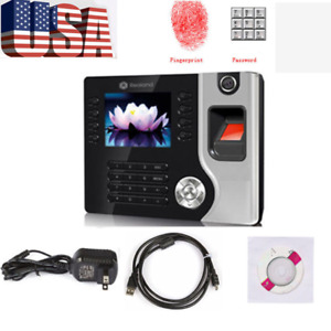 Biometric Fingerprint Attendance Time Clock Wifi tcp ip usb Br