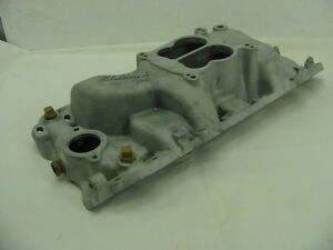 Edelbrock 2161 Performer 2 0 Street Intake Manifold Big Block Chevy Oval Port