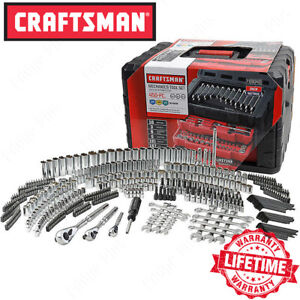 Craftsman 450 piece Mechanics Tool Set Ratchet Socket Hand Wrench Toolset