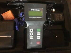Bacharach Pca 3 Pca3 24 7214 Portable Combustion Analyzer With Printer
