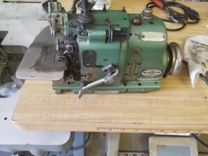 Merrow Mg 3dw 4 Overlock Merrow Edge Industrial Sewing Machine Head Only Used