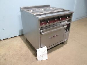 southbend H d Commercial nsf 208v 3 Electric 6 Hot Plates Stove W oven