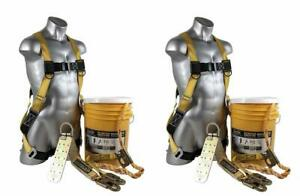 Guardian Fall Protection 00815 Safe tie Fall Protection Safety Kit 2 pack