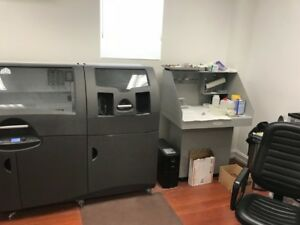 2016 3d Systems Projet 660pro With Cleaning Station Apc Ups Maintenance Contract