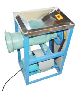4kw Crusher Fish Chicken Bones Feed Processer Meat Grinder W 2 Grinding Tool
