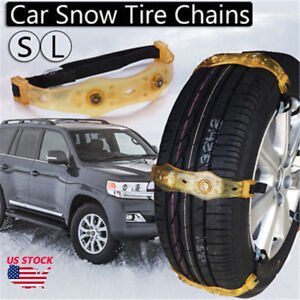 Snow Ice Mud Anti Skid Grip Emergency Car Vehicle Wheel Tire Chain Traction L