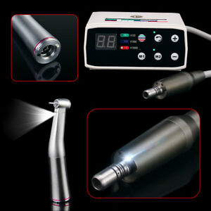 Nsk Style Electric Brushless Led E type Micro Motor 1 5 Contra Angle Handpiece