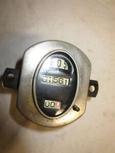 Model A Ford Oval Stewart Warner Speedometer