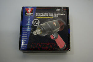 Neiko Tools Composite And Aluminum 3 4 Impact Wrench W Twin Hammer Mechanism