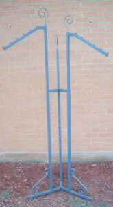 Store Fixture Supplies Boutique Style 3 Arm Rod Clothing Garment Rack Waterfall