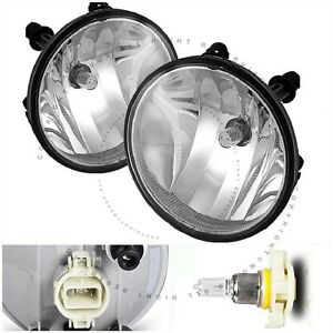 Clear Lens Fog Light Lamps Kit For Chevy Avalanche Off Road Pakg Suburban Tahoe