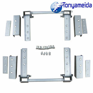 Brand New Super Heavy Duty Hidden Hinge Kit Universal For 2 Doors