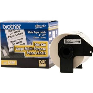Brother Dk1240 Large Multi purpose White Paper Labels