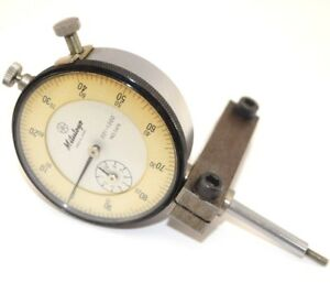 Vintage Mitutoyo Dial Indicator 2416 001 1 000 Older Model