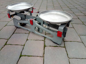 Vintage Russian Set Of Weighing Scales Weights Weighing Scales 1988 Nos Russia