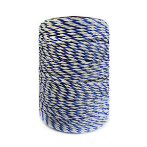 Wire Polywire Electric Fence Steel Poly Rope Animal Horse Fencing Low Resistance