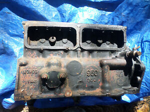 Austin Healey Sprite Bugeye Mg Midget Mini Good Used Engine Block 948