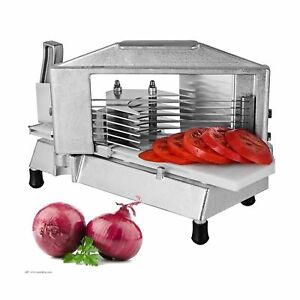 Happybuy Commercial 3 16 Inch Heavy Duty Slicer Tomato Cutter With Built in C
