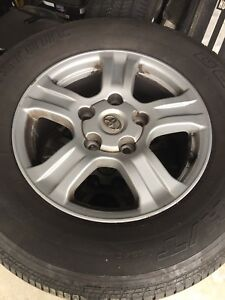 69517 Toyota Tundra Sequoia 18 Factory Oem Alloy Wheels Rims 4 And Tires