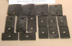 1928 1929 1930 1931 Model A Ford Ratrod Streetrod Body Block Mounting Pad Set
