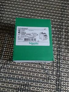 Schneider Electric Lc1d32g7 Contactor 120v Coil New Sealed Box Made In France