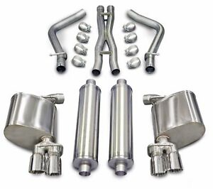 Corsa Performance 14522 Xtreme Cat Back Exhaust Kit 11 14 Dodge Charger 5 7l V8