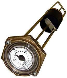 Rochester Gauge 8280 Series marine Flat Dial Vertical Fuel Or Water Level 18