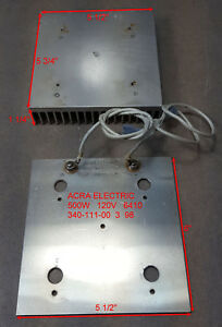 Acra Electric Heating Element 500w 120v 6410 340 111 00 3 98