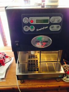 Italgi Simple Cap Super Automatic Espresso cappuccino Machine New