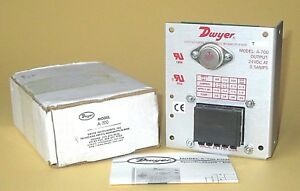 Dwyer A 700 24vdc 0 5a Power Supply 117 220 240v Input Free Priority Mail Ship