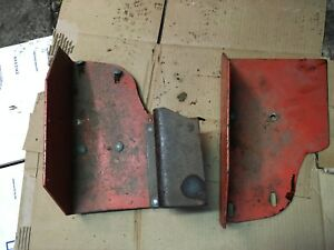 Case Sc Tractor Foot Pans Foot Rest Antique Tractor