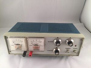 Rare Shurite Model 850 Dual Panel Meters Dc Volts And Dc Milliamperes Vtg Italy
