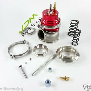 Gt2 60mm Wastegate Red V Band 1jzgte 2jz Rb25det 350z Sr20det Jdm Red Gtii