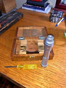 Mitutoyo Holtest Trimik Inside Bore Micrometer Gage 1 0 1 2