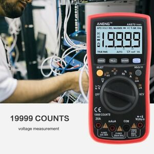 An870 Digital Multimeter 19999 Counts True Rms Ac dc Volt Amp Ohm Diode Tester S