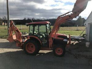 2013 Full Cab Kubota L3540 Backhoe Loader