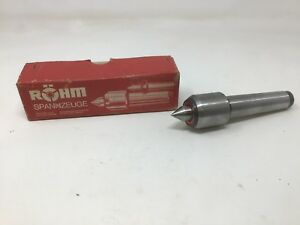 Rohm 04 Mk3 W Germany Live Center Morse Taper Sleeve In Box Excellent Shape