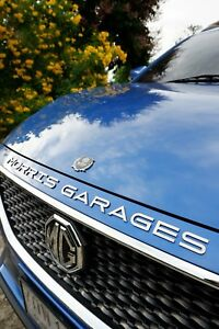 Mg morris Garages Stainless Steel Emblem