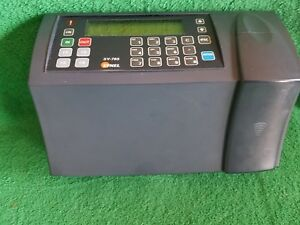 Synel Sy 765 Hid Time Clock Card Attendance Terminal Machine Sy765