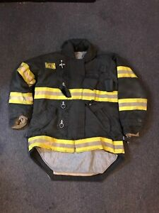 Morning Pride Gear Bunker Jacket Turnout Jacket Fdny Style Size 42