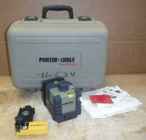 Porter Cable Robotoolz Rt 3620 2 Rt a3620 1 Rotating Level Laser In Case 220