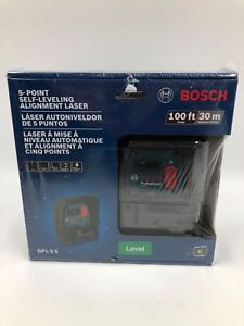 Bosch Gpl 5 S 5 Point Self Leveling Alighment Laser 22036895 2