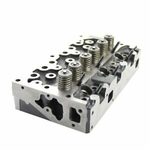 Cylinder Head With Valves Ad3 152 Massey Ferguson 40 150 135 20 255 Perkins