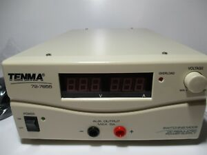 Tenma 72 7655 Heavy Duty Dual Output 60 Amp Adjustable Bench Power Supply