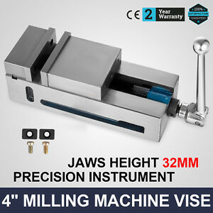 4 Super lock Precision Cnc Vise Milling Clamping Stable Horizontal Flat Vise