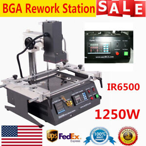 Ir6500 Infrared Bga Rework Station Soldering Welding Tech For Xbox360 Ps3 Ups
