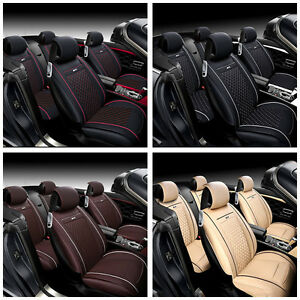 Protector Car Seat Cushion Seat Cover Pu Leather Fit Honda Crv 12 16 5 Seats Bin