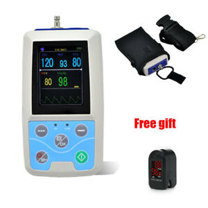 24hrs Nibp Automatic Ambulatory Blood Pressure Monitor Abpm Holter Adult Cuff