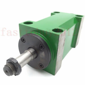 5000 6000rpm Er25 Power Head Spindle Unit Head 2hp For Boring Milling Machine