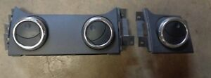 05 06 07 08 09 Ford Mustang Center Dash Trim With A C Heater Air Vents Black